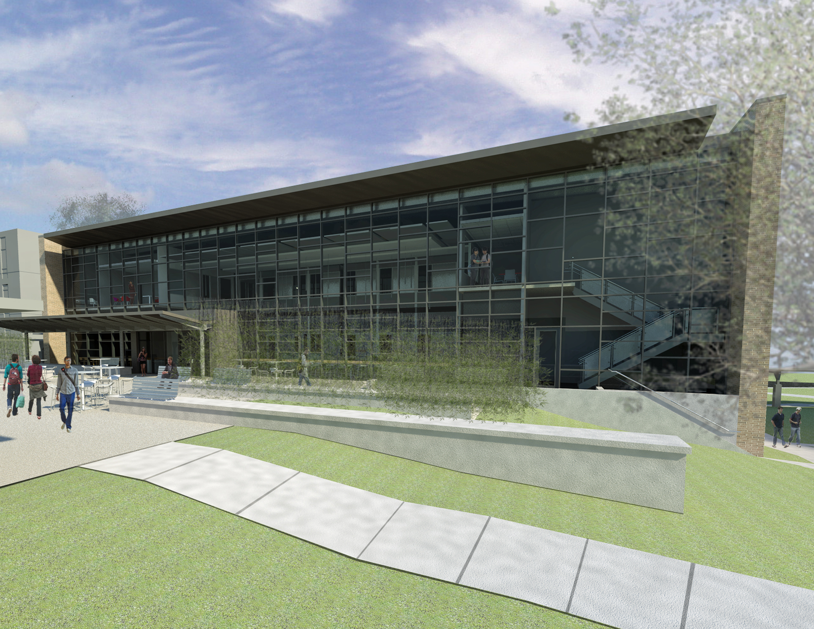 Midlands Technical College Constructing New Learning Resource Center on Beltline Campus