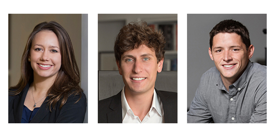 Quackenbush Architects + Planners Announces Three Newly Licensed Architects