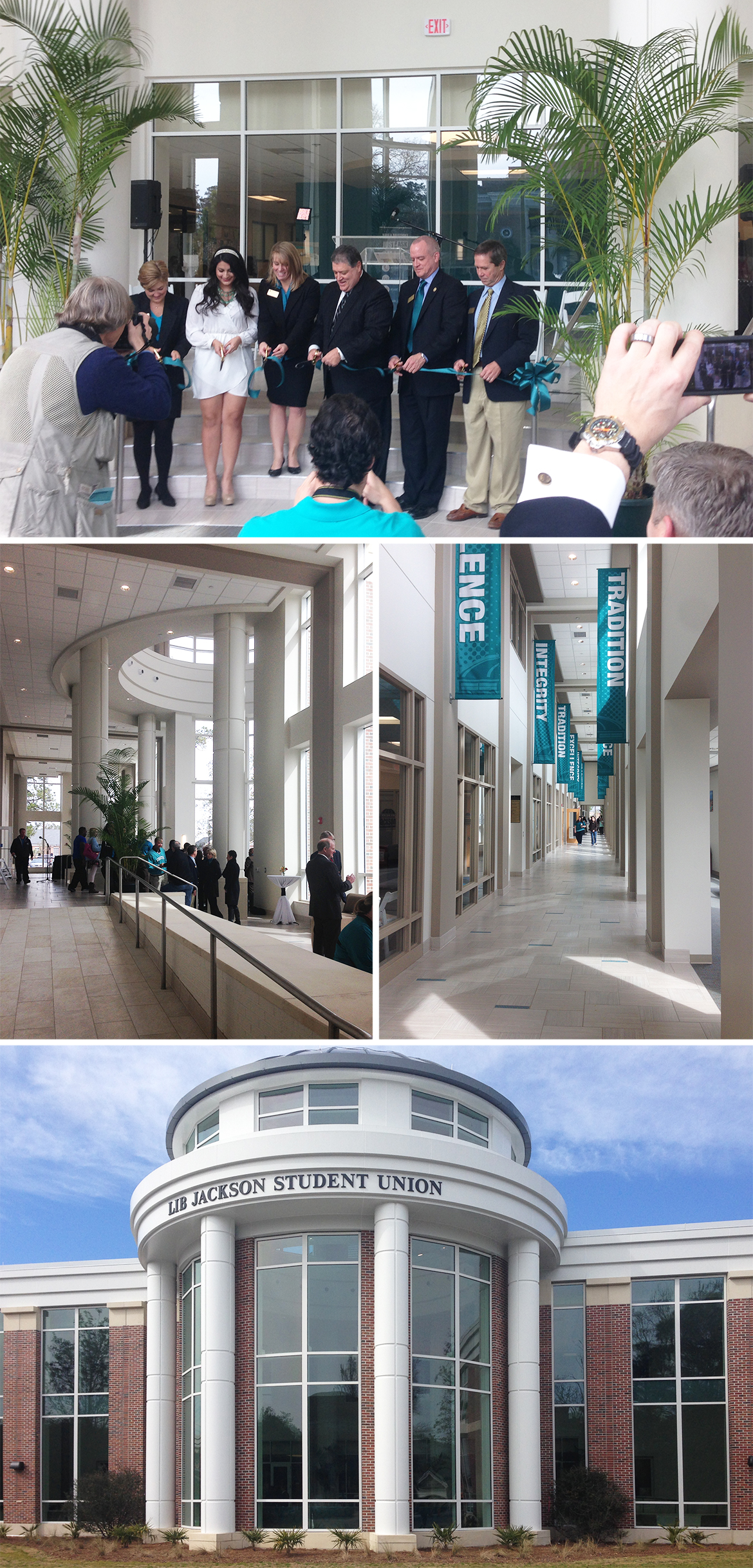 CCU Lib Jackson Student Center Dedication