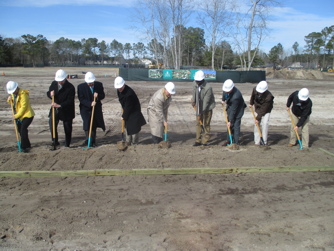 CCU Student Housing Groundbreaking
