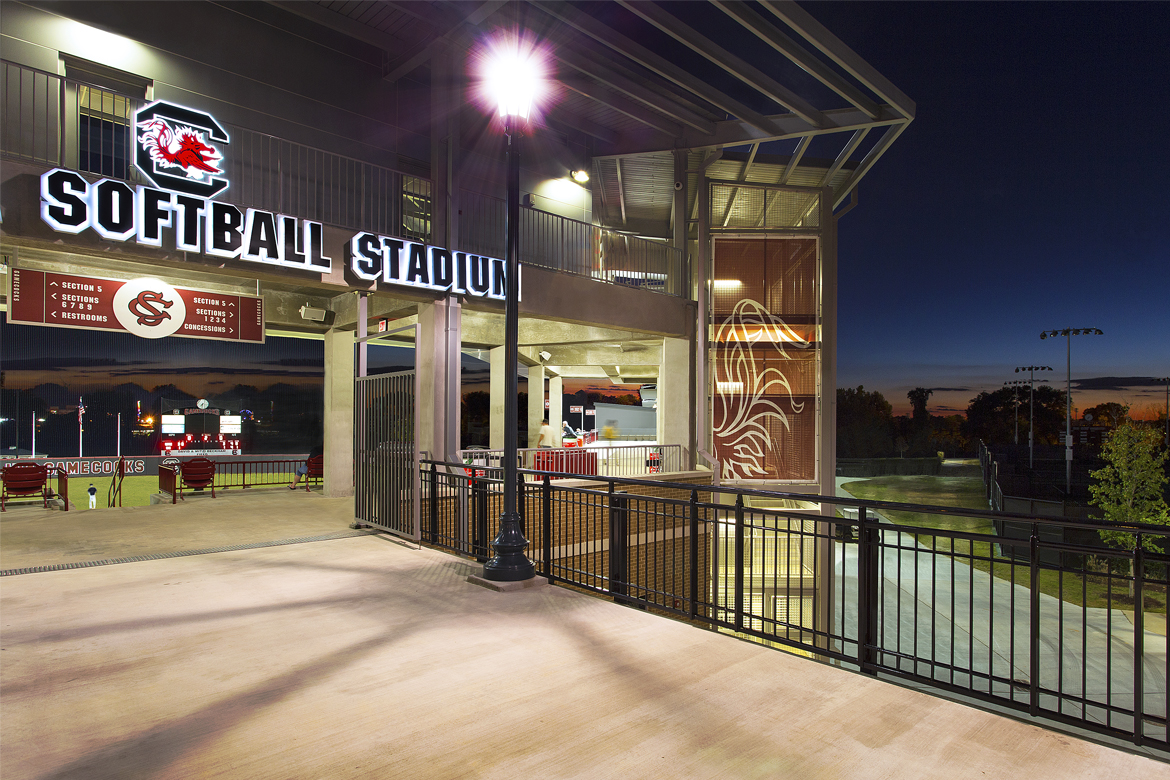 "USC Softball Stadium Featured in ""Athletic Business"""